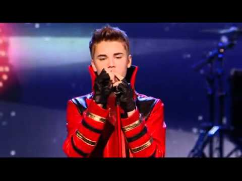 The X Factor - Justin Bieber - Mistletoe LIVE & HD( read description )