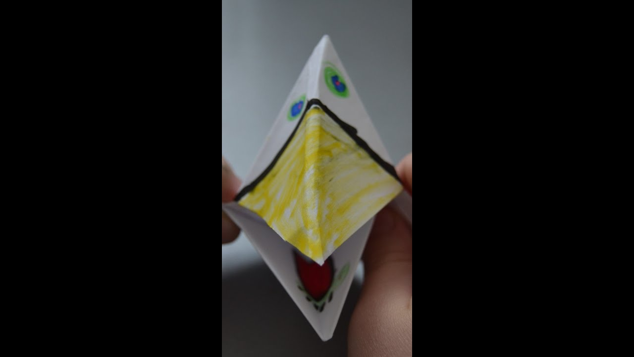 Как сделать клюв гуся из бумаги фото 233