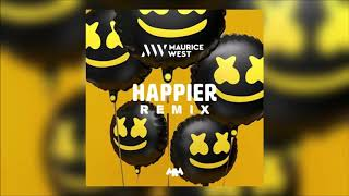 Marshmello ft. Bastille - Happier (Maurice West Bootleg)