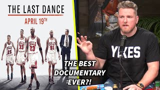 "Pat McAfee Says ""The Last Dance Is The Best Documentary Ever"""