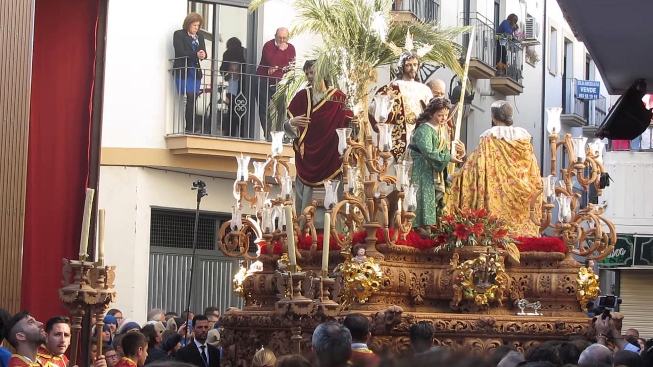 Domingo de ramos alcala la real 9 4 2017 borriquilla y - Spa alcala la real ...