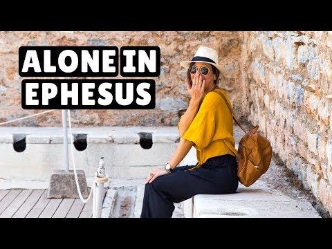 EXPLORING EPHESUS | How to Avoid the Crowds!