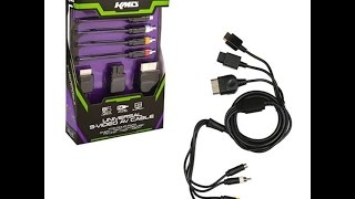 WATCH BEFORE YOU BUY KDM S-Video cable for snes, n64, gamecube, Xbox, PS1, PS2