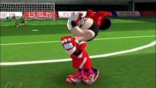 Disney Sports Soccer - Football - Mickey, Donald, Minnie, Nintendo Gamecube Kids Games