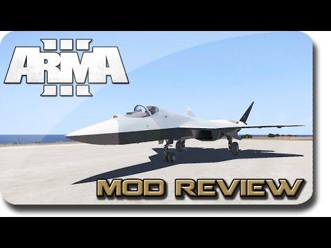 ArmA 3 ► Mod Review! Sukhoi T-50 PAK FA