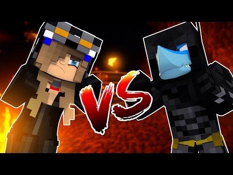 Minecraft NOOB VS PRO - CATWOMAN VS BATMAN | SHARKY VS LITTLE KELLY