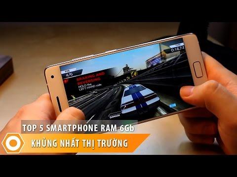 Top 5 Smartphone Ram 6Gb - Gây sốt thị trường di động