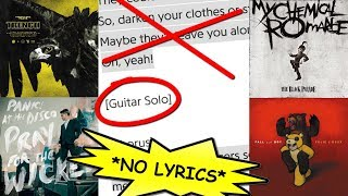 GUESS THE EMO SONG WITHOUT LYRICS CHALLENGE (FOB, MCR, P!ATD, TOP) *CrankThatFrank Reaction?*