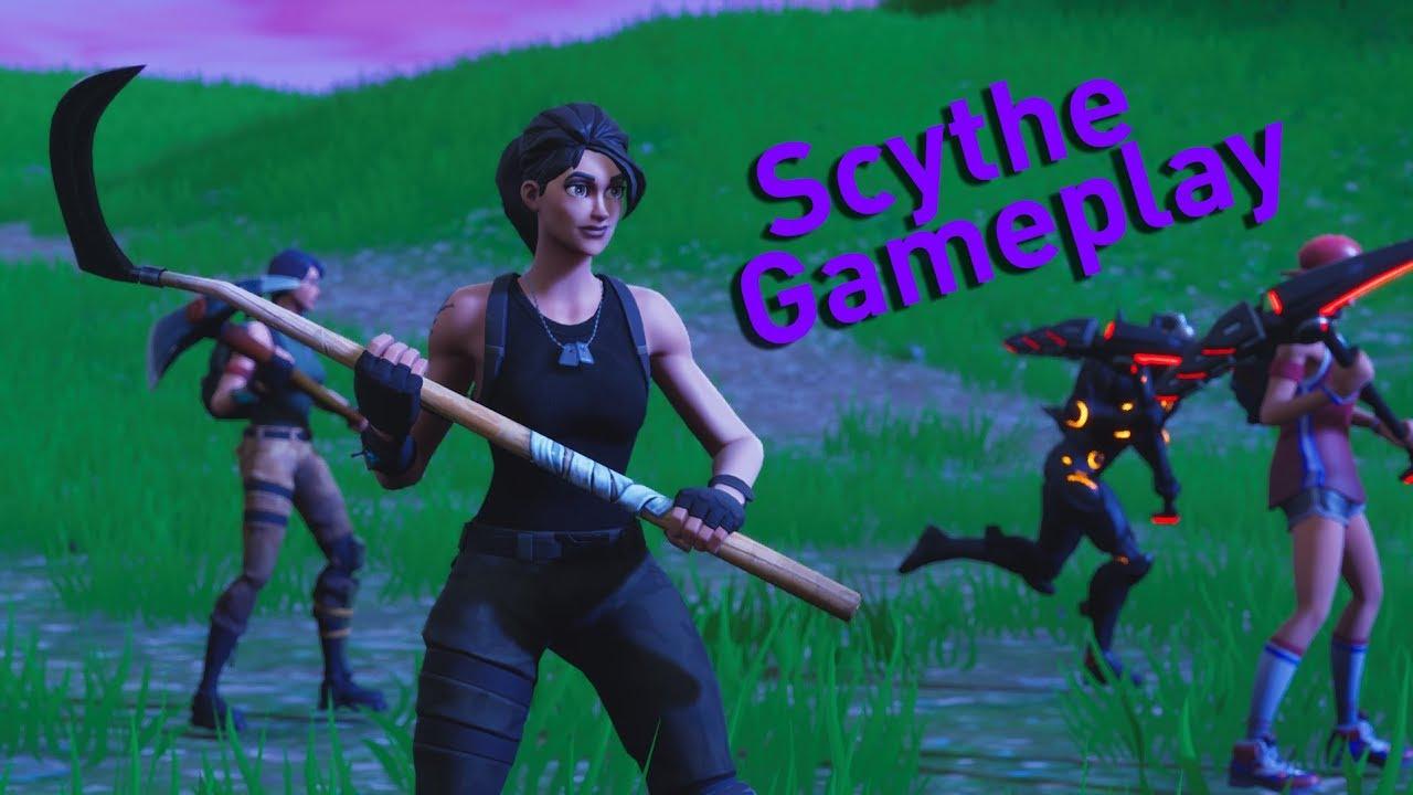 Fortnite scythe reaper pickaxe gameplay sounds and more youtube - Fortnite reaper ...