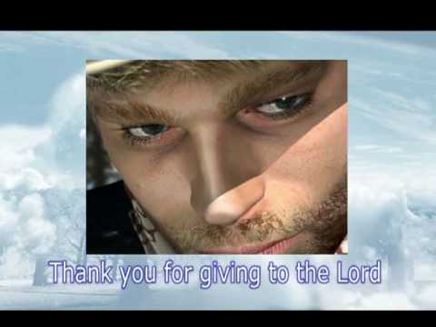 THANK YOU FOR GIVING TO THE LORD by RAY BOLTZ with lyrics