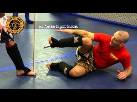 Knife Attack Defense Training At Pennsylvania Combat Sports