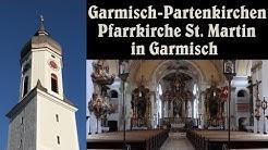 GARMISCH-PARTENKIRCHEN (GAP), Pfarrkirche St. Martin (Garmisch) - Eindrücke von einem Festtagsgeläut