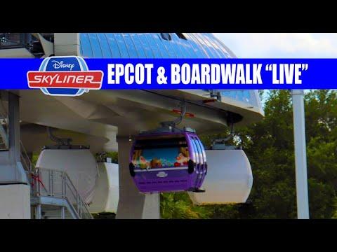 disney-skyliner-gondola-testing-epcot-international-gateway-and-boardwalk---live-1080p
