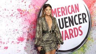 Becca Tilley 2019 American Influencer Awards Pink Carpet Fashion