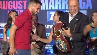 LOL LOMACHENKO ASKS WBO PRES. TO MAKE HIM IBF, WBC & WBA BELTS; SUBTLE JABS AT DIVISION CHAMPS
