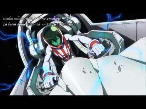Captain Earth - Fight scene (Hana's song) Vostfr