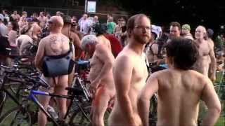 assaulted by naked woman...2015 Portland naked bike ride