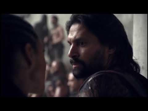 Download Julio Cesar vs Gannicus. Spartacus la Guerra de los Condenados. Español Latino
