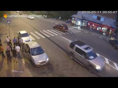Разборка в г. Дзержинский, ул.  Бондарева и ул. Дзержинская, 11.05.2016