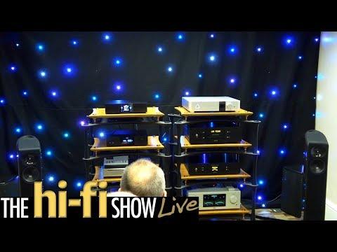 T+A Auralic Innuos  Tellerium Q Rockna Ultimate Stream Room @ Hi-Fi Show Live 2017