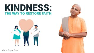 If you have lost FAITH, watch this by Gaur Gopal Das
