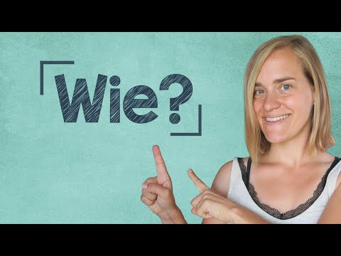 German Lesson (99) - How-Questions - wie lange, wie spät, wie viel, wie hoch - A2