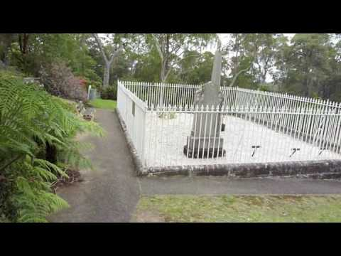 Grave Of Sir Henry Parkes Faulconbridge Nsw Youtube