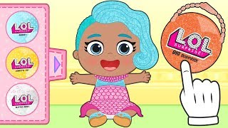 BABY LILY ✨ Lily Dresses up as Splash Queen, LOL Surprise Series 2 | L.O.L. Surprise! Dolls