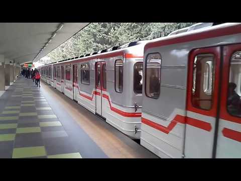 Georgian metro Station Didube (Tbilisi, Georgia). Тбилиси, метро ст. Дидубе. Tbilisi Metro.