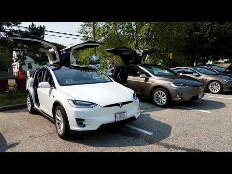 NDEW South Portland ME featuring the Nissan LEAF BOLT EV and a Tesla Model X-MAS Surprise!