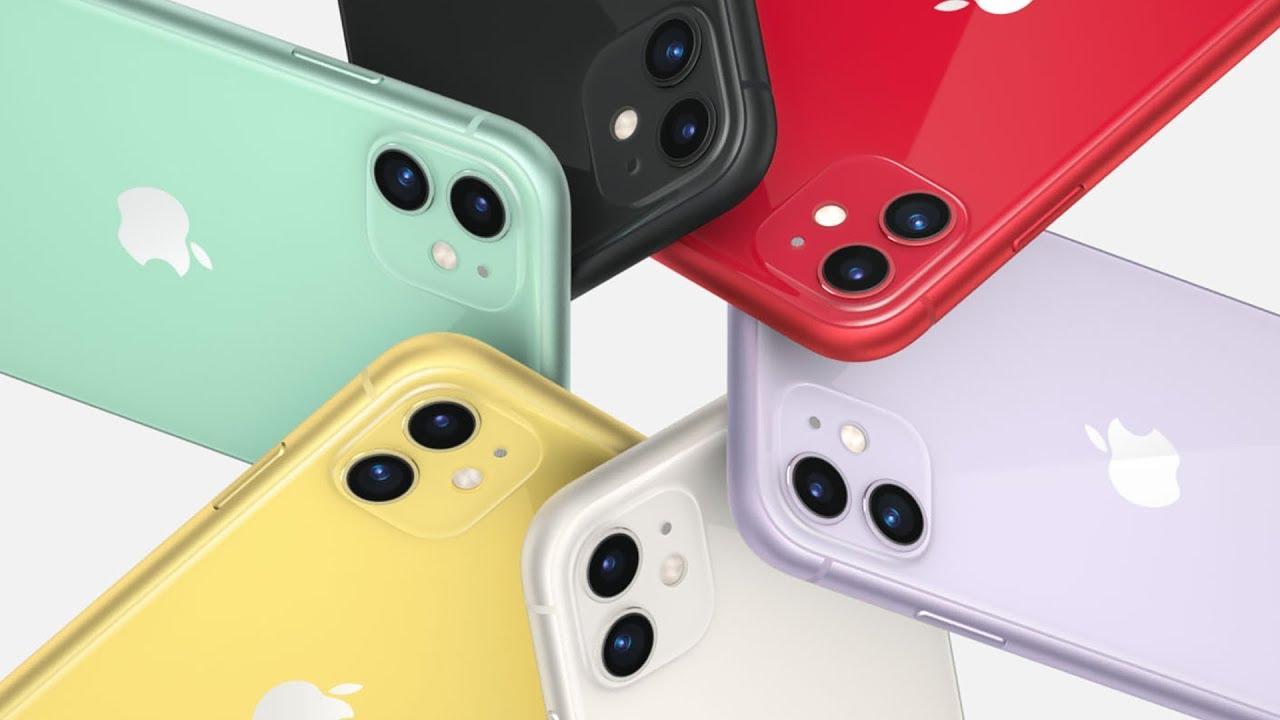 iPhone 11: Giá 16.2tr, 2 camera, 6 màu sắc - YouTube