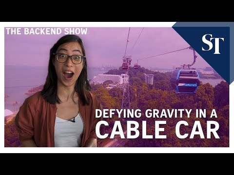 Our Singapore Cable Car Sky Dining experience | The Backend Show | ST