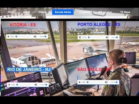 ESCUTA TORRE DO AEROPORTO SALGADO FILHO PORTO ALEGRE