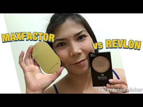 REVLON Vs MAXFACTOR Powder Foundation