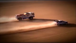 DAF vs Peugeot 405 I Paris-Dakar 1988