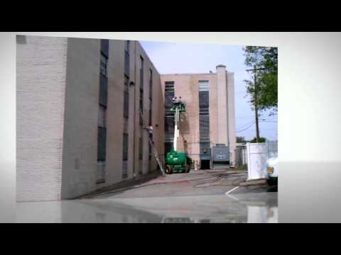 Commercial Building Power washing PG county Maryland