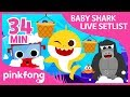 Baby Shark and more | Baby Shark LIVE Setlist | +Compilation | Pinkfong Shows for Children