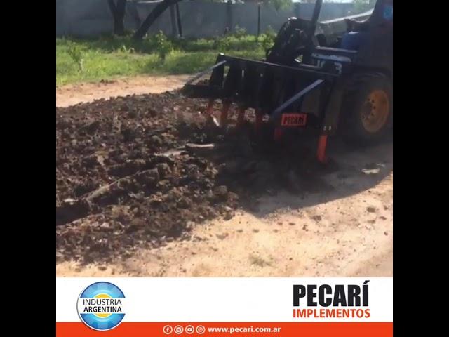 Escarificador Pecari / Enero 2020