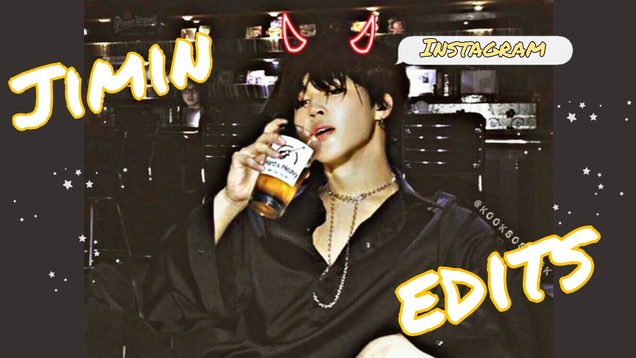 HOT jimin edits that will make you want more. ;) - YouTube