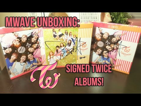 Thumbnail: [Mwave Haul #2] Unboxing SIGNED TWICE 3rd Mini Album Twicecoaster: Lane 1 Albums!