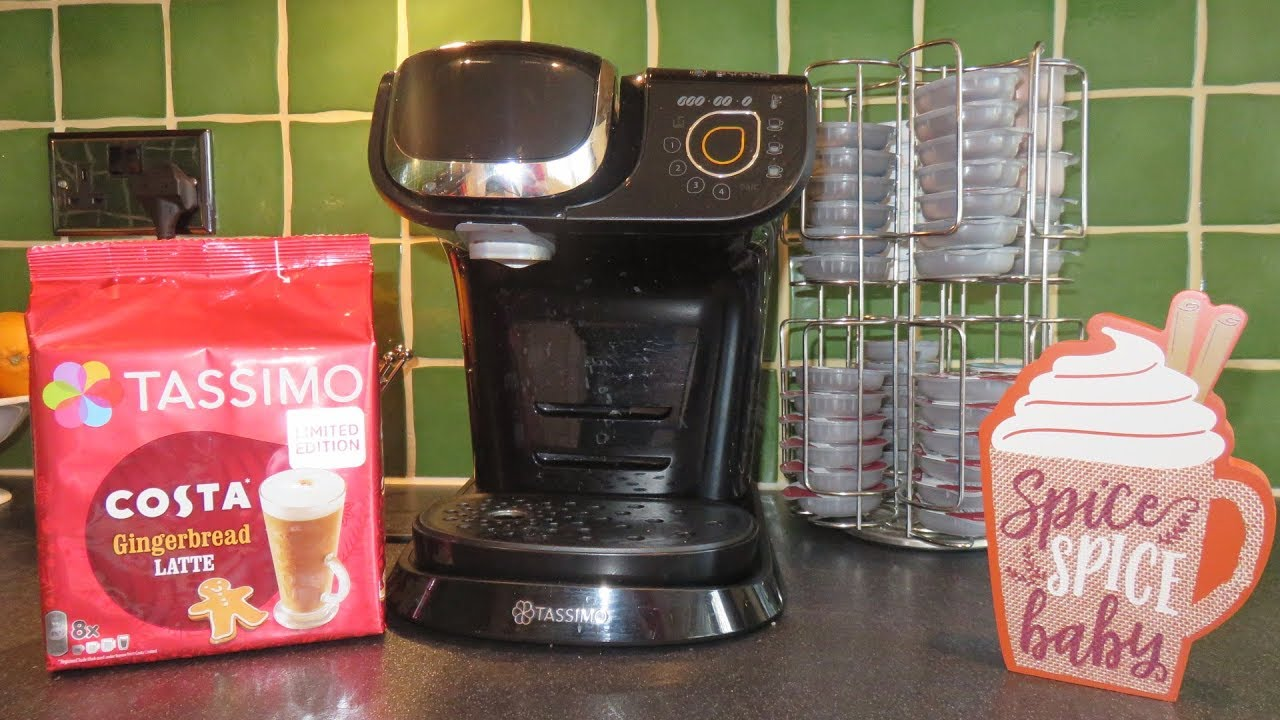 How to make the best #Tassimo Costa Coffee Christmas Gingerbread Latte ☕