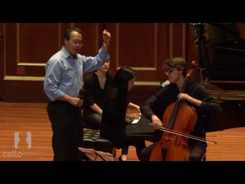 Yo-Yo Ma Masterclass: Barber Concerto, Op. 22