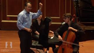Yo-Yo Ma Master Class: Barber Concerto, Mvt. 1