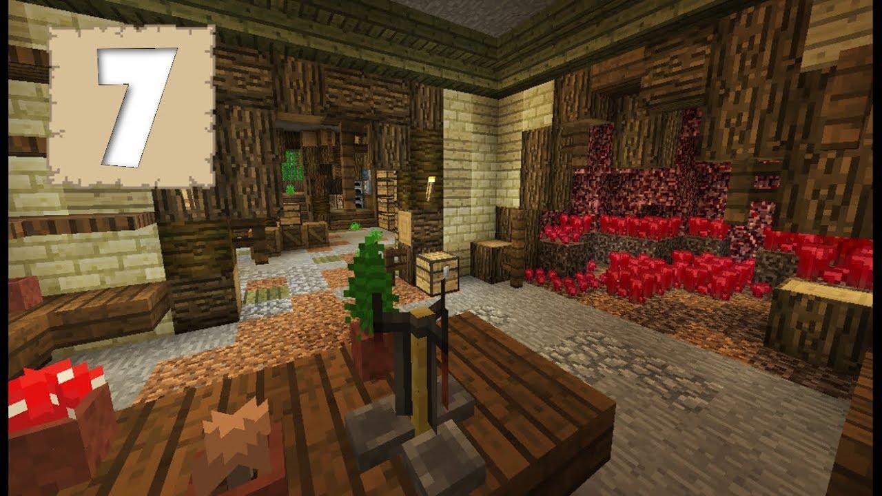 LETu0027S BUILD AN ALCHEMY ROOM!!   Survival Letu0027s Play Ep. 7   Minecraft 1.2