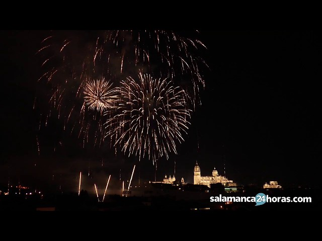 Ferias y Fiestas de Salamanca 2017: fuegos artificiales