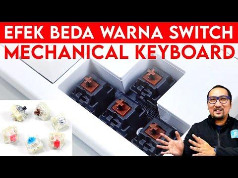 Mengenal Efek Beda Warna Switch Mechanical Keyboard - Feat. Cherry MX Keyboard