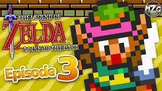 The Legend of Zelda: A Link to the Past Gameplay Part 3 - Pegasus Shoes! Desert Palace!