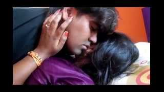 Hot First Night Bed Navel Kissing Very Romantic Scene