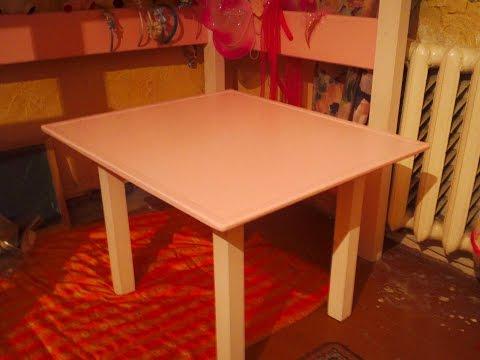 видео: Стол своими руками, handmade table