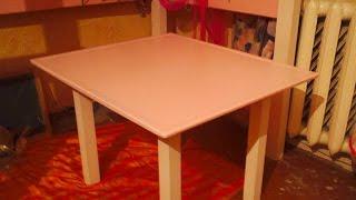 Стол своими руками, Handmade table